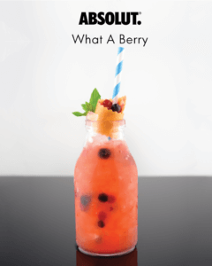 ABSOLUT- What-A-Berry-Cocktail